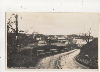 Nethy Bridge From Balnagown Inverness-shire Scotland 1934 RP Postcard
