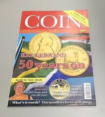 July  2017 coin news magazine NEW publication