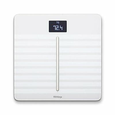 Withings Body Cardio, Heart Health & Full Body Composition WiFi Scale (White)