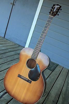 Vintage Silvertone model 618 Jumbo Acoustic Guitar Made in USA