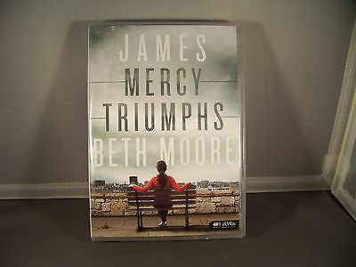 Beth Moore James Mercy Triumphs Bible Study DVD's