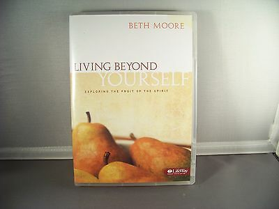 Beth Moore Living Beyond Yourself Christian Bible Study DVD Set