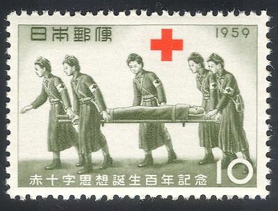 Japan 1959 Red Cross/Medical/Health 1v (n23460)