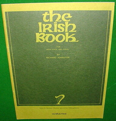 The IRISH Book for High Voice & Piano, ©1971 Sheep, Ballad of the Fiddler, Exile