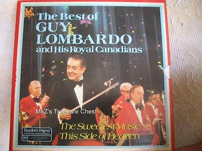 "Vintage Reader's Digest ""The Best of Guy Lombardo"" 6 Record Set by RCA Records"