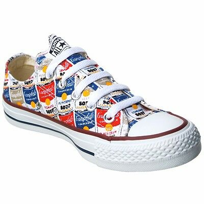 Converse All Star Chucks UE 445 uk10 5 147053 Andy Warhol LIMITED EDITION NUOVO