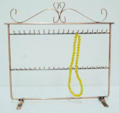 necklace & bracelet 40 hooks jewelry display stand rack holder