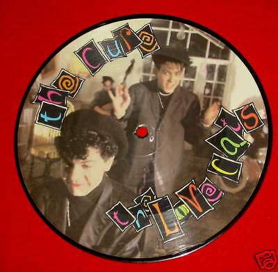 """THE CURE - The Love Cats - Rare 7"""" Picture Disc (Vinyl)"""