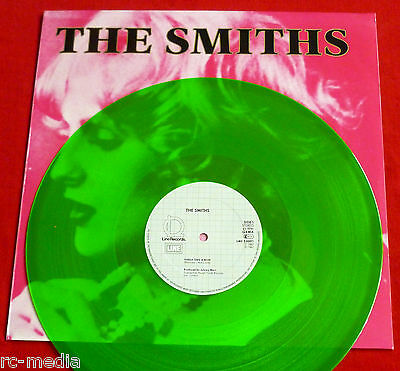"THE SMITHS - Sheila Take A Bow - Very Rare Geman Green Vinyl 12"" NEAR MINT!"