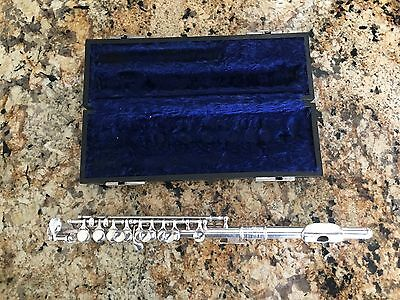 Vintage C Bundy Piccolo in Silver