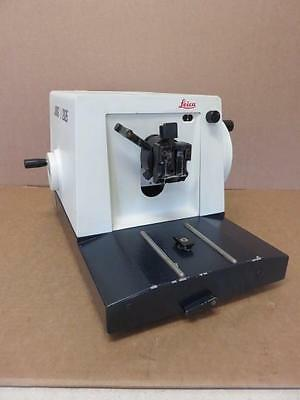 Leica Jung RM 2025 Manual Microtome *No Blade Holder*
