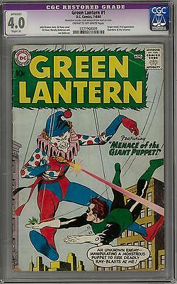 Green Lantern #1 CGC 4.0 (C-OW) 1st appearance of the Guardians of the Universe