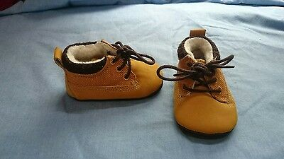 Next baby shoes size 0-3m brown boot type boys