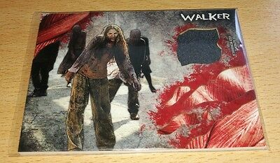 The Walking Dead Survival 'Walker' Costume/Wardrobe Relic Card (A) Slight Damage