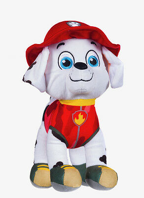 "New Official 12"" Paw Patrol Jungle Marshall Pup Plush Soft Toy Nickelodeon Dogs"