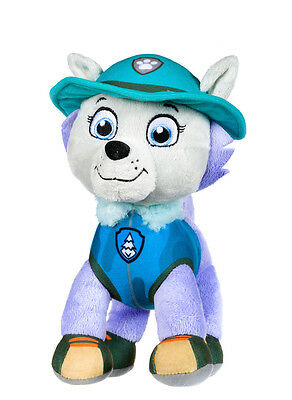 "New Official 12"" Paw Patrol Jungle Everest Pup Plush Soft Toy Nickelodeon Dogs"