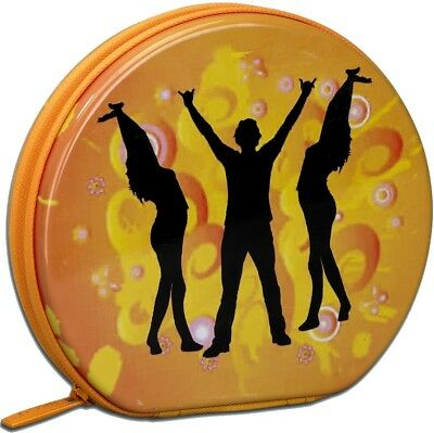 Beco CD-Box für 24 CD DVD Blu Ray Tin-Case Dancer CD Tasche Case Mappe
