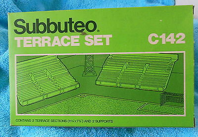 Vintage Boxed Subbuteo Terrace Set C142 Table Football