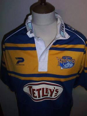 Leeds Rhinos Rugby League Shirt Size Xl.