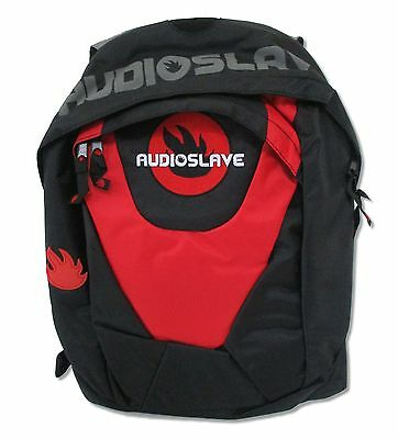 Audioslave Classic Fire Logo Black Backpack New Official Back Pack Chris Cornell
