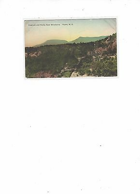 Tryon NC-Hogback and Rocky Spur Mtns.-1920s postcard