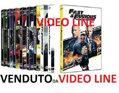 Dvd Fast And Furious - Collection - (8 Dvd Film) .....NUOVO