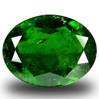 2.49 ct  Stunning Oval Shape (9 x 7 mm) Green Chrome Diopside Natural Gemstone