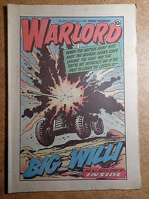 Warlord Comic No.309 August 23rd 1980 War Action Vintage British Comics