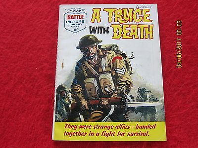 Battle Picture Library Comic- No.78 Good Condition.- 10 - 1962.