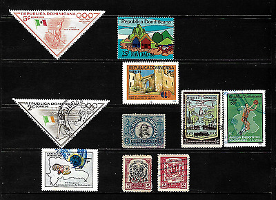 Dominican Republic...good  Postage Stamps  From Dominican Republic.........80617