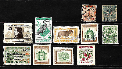 Uruguay....a Splendid Collection Of  Stamps From Uruguay......80605