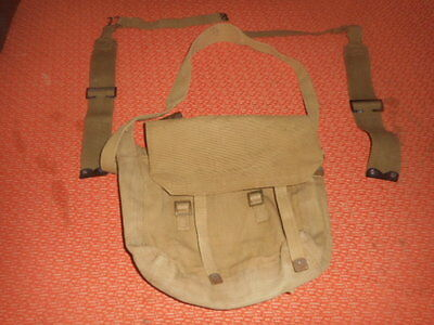 Great Britain:- 1940 Wwii - Small Backpack  Haversack 1940 Wwii