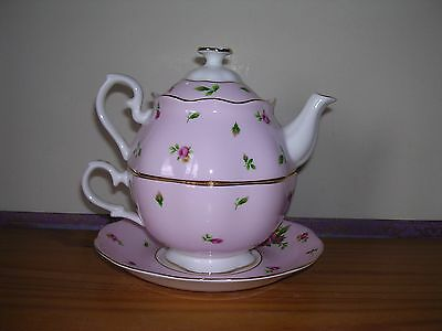 Royal Albert ~ New Country Roses Design ~ Tea For One.