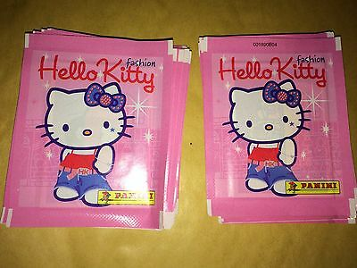 39 Packs Packets of Hello Kitty Fashion Stickers Panini