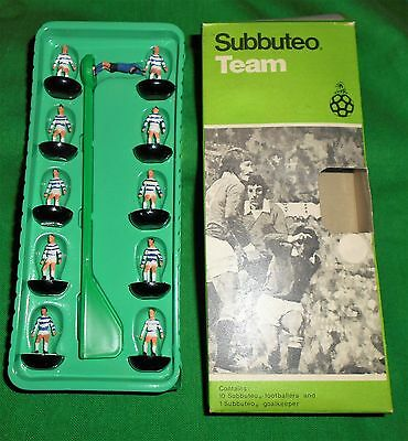 RARE SUBBUTEO FOOTBALL C100 HEAVYWEIGHT TEAM MORTON READING Ref 11 BLACK BASES