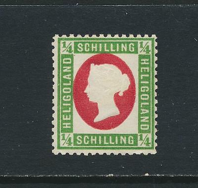 HELIGOLAND 1873, ½Sch PERF 13½x14½, VF MINT OG SG#5a (SEE BELOW)