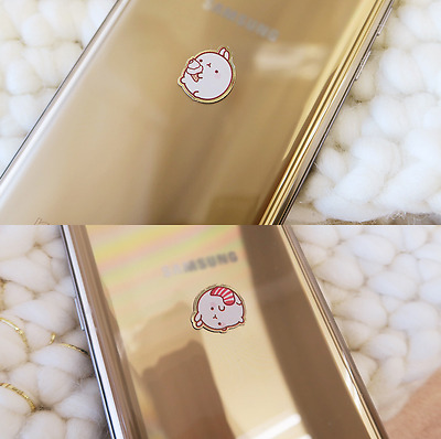 Molang Anti-Radiation Plate Sticker Gold Ver. 2EA Mobile Battery Camera Computer