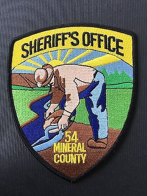 54 Mineral  County  Montana Sheriff  Shoulder Patch