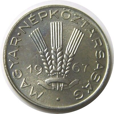 elf Hungary 20 Filler 1967  Grain Proof 5,000 minted