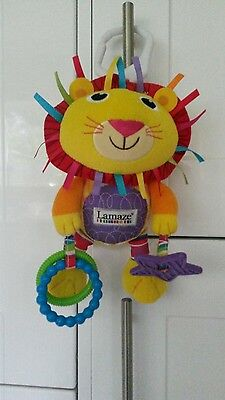 "Lamaze ""Logan the Lion"" Baby Pram/Cot Toy"