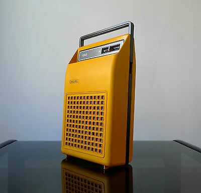 VINTAGE PHILIPS 133 PORTABLE RECORD PLAYER 1970s Retro Dieter Rams Braun Era