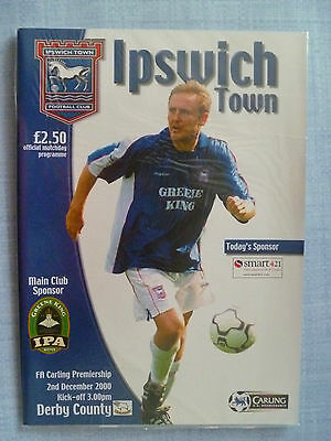 Ipswich Town v Derby County 2000-2001