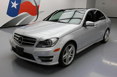 2014 Mercedes-Benz C-Class  2014 MERCEDES-BENZ C350 SPORT PANORAMIC SUNROOF 35K MI #903859 Texas Direct Auto