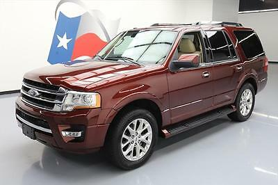 2017 Ford Expedition EL Limited Sport Utility 4-Door 2017 FORD EXPEDITION LIMITED ECOBOOST NAV REAR CAM 18K #A21806 Texas Direct Auto