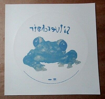 "Silverchair 1995 Frog Stomp Original 8"" Promo Display Static Cling / Sticker"