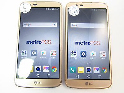 Lot of 2 LG K10 (MS428) (Metro PCS) (Check ESN)_C12