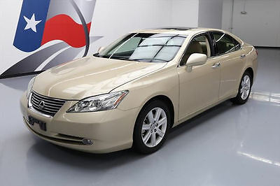 2007 Lexus ES 350 Base Sedan 4-Door 2007 LEXUS ES350 CLIMATE SEATS SUNROOF PWR SHADE 40K MI #108302 Texas Direct
