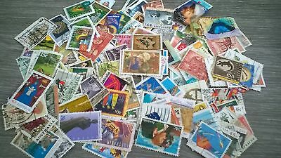 200 Stamps From Australia. All Different