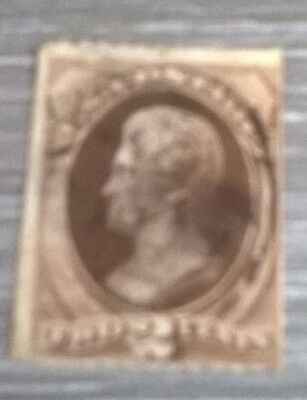 USA - 1870/1, 2c Red-Brown stamp - Used - SG 148, 148a or 148b (d)