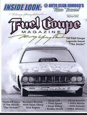 Kenny Youngblood Fuel Coupe Magazine Snake Ii Fc 04/15 Cover Steve Reyes